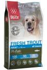 Blitz Holistic Adult Fresh Trout 1.5 kg