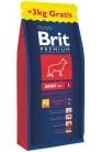 Brit Premium by Nature Adult L с курицей promo
