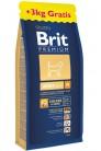 Brit Premium by Nature Adult M с курицей promo