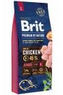 Brit Premium by Nature Junior L с курицей