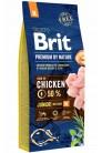 Brit Premium by Nature Junior M с курицей