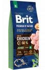 Brit Premium by Nature Junior XL с курицей