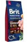 Brit Premium by Nature Senior L+XL с курицей