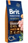 Brit Premium by Nature Senior S+M с курицей