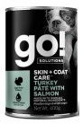 GO! Skin+Coat Turkey Pate with Salmon DF
