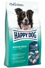 Happy Dog Fit&Vital Medium Adult с птицей, лососем, ягненком