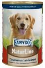 Happy Dog Natur Line с телятиной и индейкой