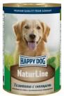Happy Dog Natur Line с телятиной и овощами