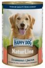 Happy Dog Natur Line с телятиной рисом