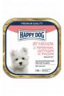 Happy Dog puppy mini паштет с ягненком