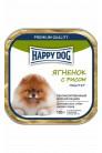 Happy Dog mini паштет с ягненком и рисом