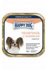 Happy Dog mini паштет с телятиной и индейкой