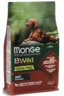 Monge Dog BWild GRAIN FREE с ягненком 2,5 кг
