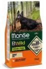 Monge Dog BWild GRAIN FREE Mini с уткой