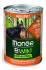 Monge Dog BWild GF ADULT MINI-Duck