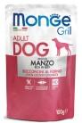 MONGE Dog Grill Pouch говядина