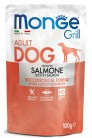 Monge Dog Grill Pouch с лососем