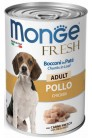 Monge Dog Fresh Chunks in Loaf Chicken Adult