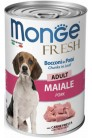 Monge Dog Fresh Chunks in Loaf Pork Adult