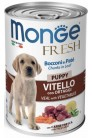 Monge Dog Fresh Chunks in Loaf Puppy