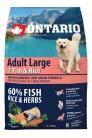 Ontario Adult Large 7 Fish&Rice 2.25 kg