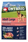 Ontario Adult Large Beef&Rise 2.25 kg