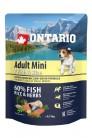Ontario Adult Mini 7 Fish&Rice 0.75 kg