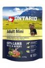 Ontario Adult Mini Lamb&Rice 0.75 kg