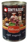 ONTARIO Culinary Calf Ragout with Duck 400 gr