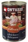 ONTARIO Culinary Chicken Fricasse 400 gr