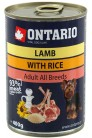 ONTARIO Lamb with Rice 400 gr