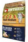 Ontario Medium Chicken&Potatoes 2.5 kg